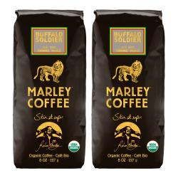 Marley Coffee Buffalo Soldier Ground Coffee (1 Pound)