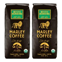 Marley Coffee Mystic Morning Whole Bean Coffee (1 Pound)