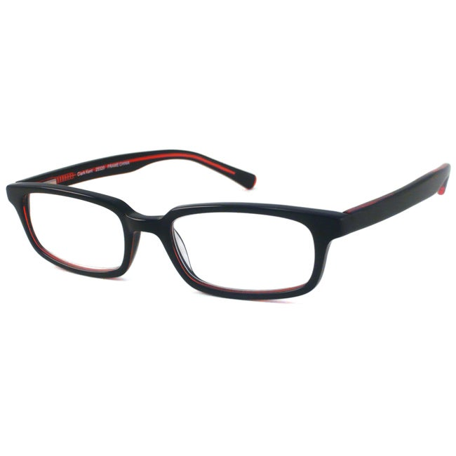 Scojo Men's Clark Kent Black/ Red Reading Glasses