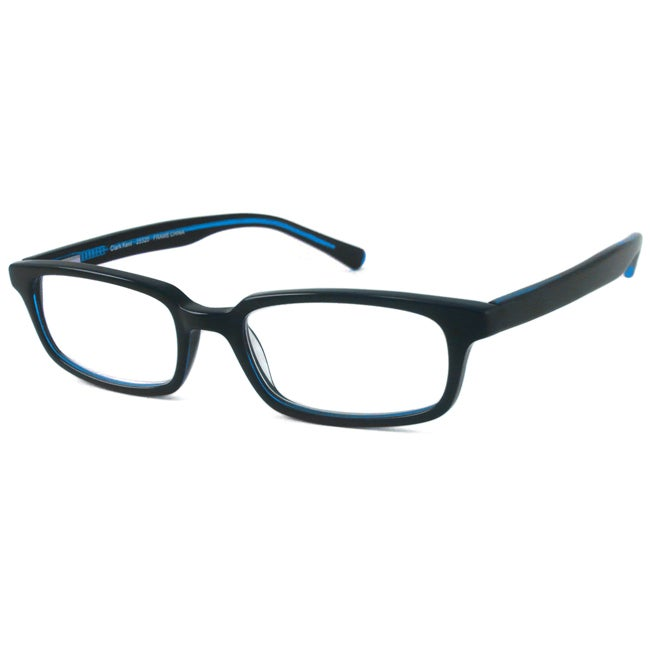 Scojo Men's Clark Kent Black/ Blue Reading Glasses