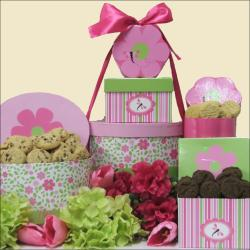 Spring Time Delights: Chocolate and Sweets Gift Tower