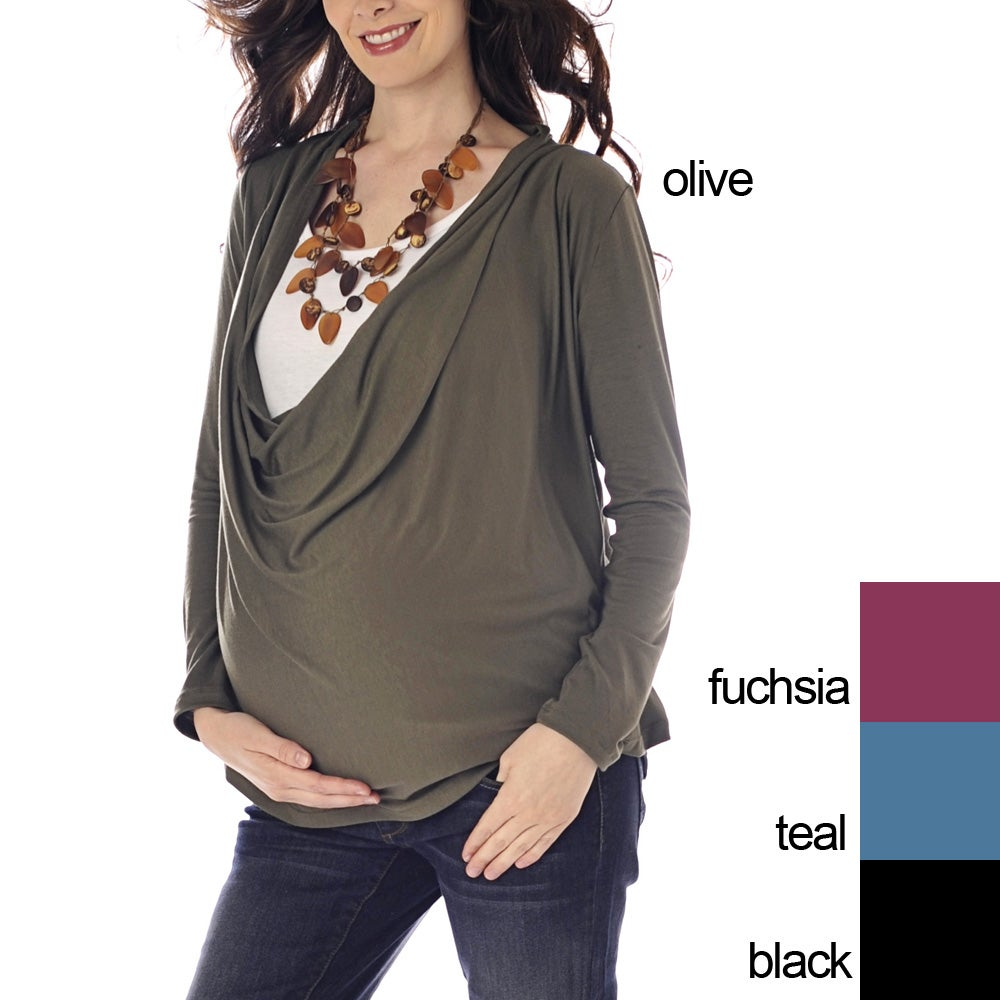 Lilac Clothing Women's 'Hope' Maternity Top