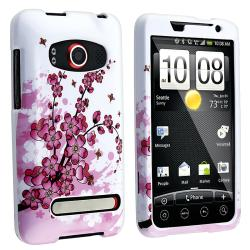 BasAcc Spring Flowers Snap-on Case for HTC EVO 4G