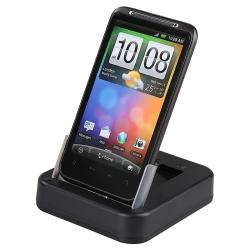 BasAcc Multi-function Cradle with USB/ AC Adapter for HTC Desire HD