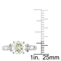 Miadora 14k Gold 2 1/3ct TDW Certified Diamond Ring (H-I, I1-I2)