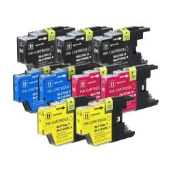 Brother LC75 Compatible Ink Cartridges (Pack of 9)