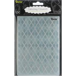 Darice 'Argyle' Background Embossing Folder