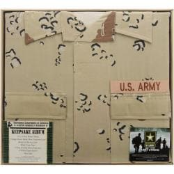 "U.S. Army Desert Battle Dress Uniform Keepsake Album 12""X12in"