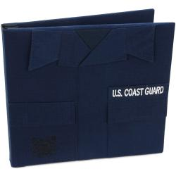 U.S. Coast Guard Keepsake Postbound Album 12X12in-Blue
