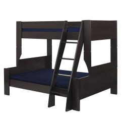 Popsicle Espresso Twin-over-Full Bunk Bed