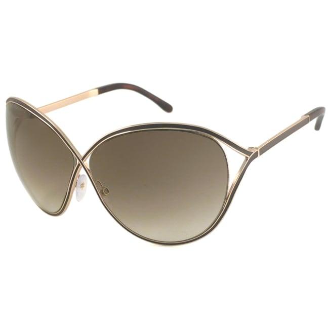 Tom Ford Women's TF0178 Sienna Oversize Sunglasses