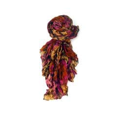 LA77 Women's Animal/ Abstract Print Scarf