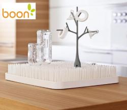 Boon Grass Countertop Drying Rack in Winter White