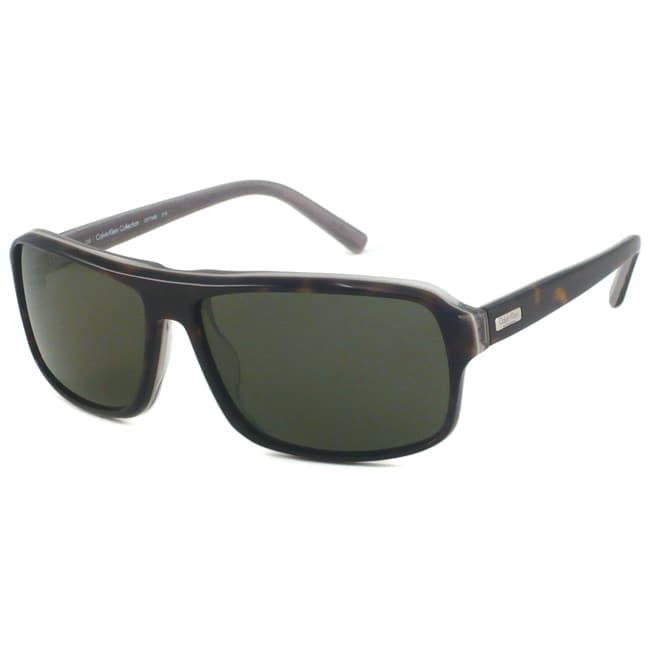 Calvin Klein Men's CK7768S Rectangular Sunglasses
