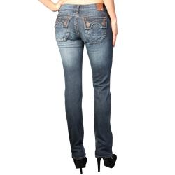 Laguna Beach Women's 'Hermosa Beach' Dark Blue Slim Fit Jeans