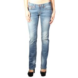 Laguna Beach Women's 'Hermosa Beach' Medium Blue Slim Fit Jeans