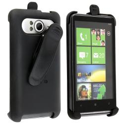 BasAcc Black Swivel Holster for HTC HD7/ HD3 T9292