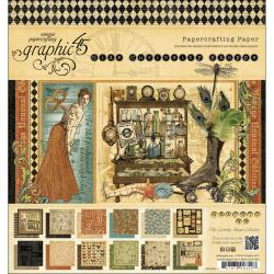 Olde Curiosity Shoppe Double-Sided Paper Pad 8