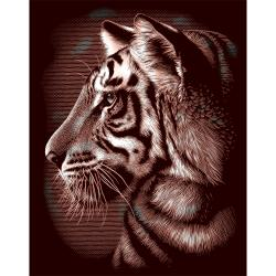 Copperfoil Kit 8X10in-Tiger
