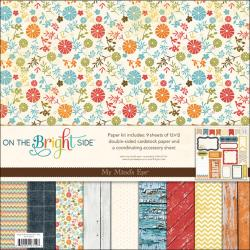 On The Bright Side One Paper & Accessories Kit 12