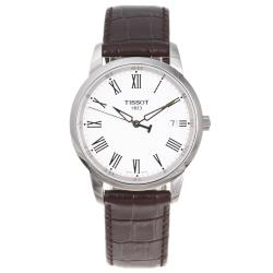 Tissot Men's 'Classic Dream' Leather Strap Watch