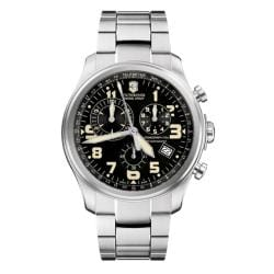Victorinox Swiss Army Men's Infantry Vintage Black Dial Chronograph Watch