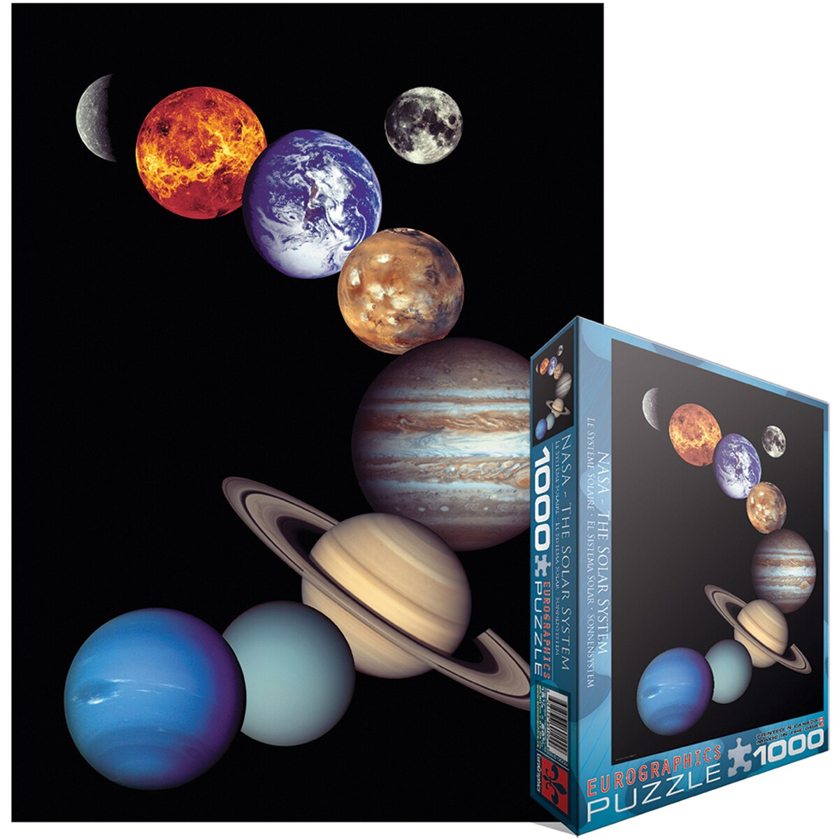 Jigsaw Puzzle 1000 Pieces -NASA Solar System