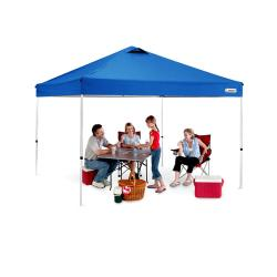 Trademark First-up Blue Gazebo Tent Canopy (10' x 10')
