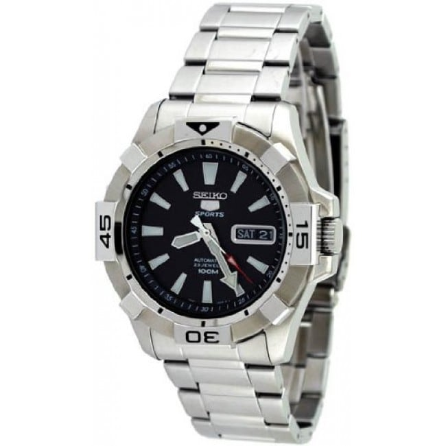 Seiko Men's Automatic Black Dial Watch