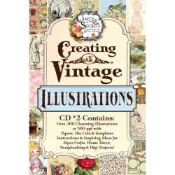 Crafty Secrets CD Creating With Vintage Illustrations