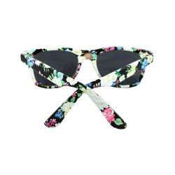 Women's Black Floral Sunglasses
