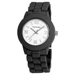 Vernier Women's Simple Beauty Basic Soft Touch Matt Black Watch