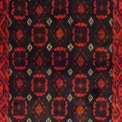 Persian Tribal Balouchi Brown/ Navy Wool Rug (3'5 x 6'2)