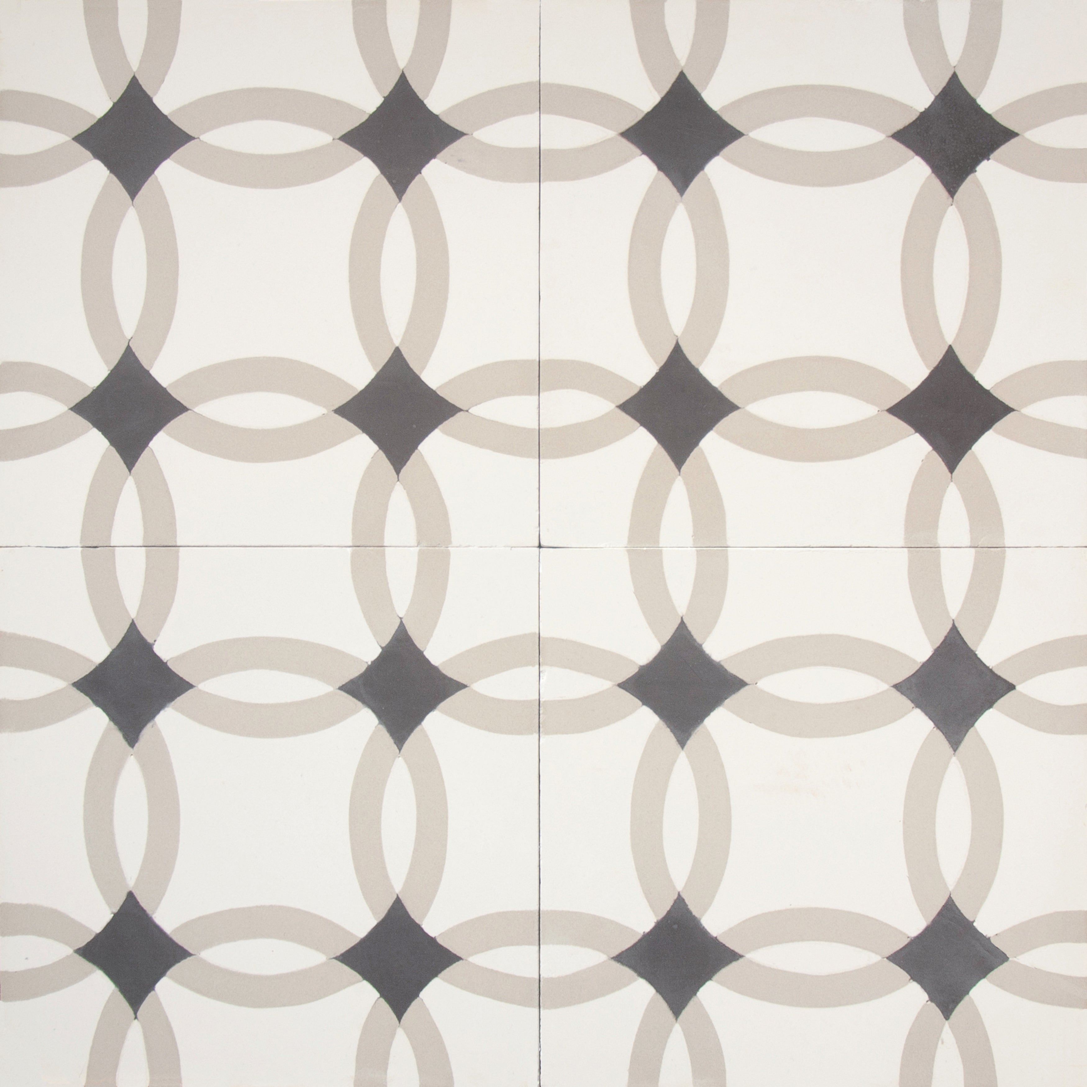 Granada Tile Echo Collection Athens Cement Tiles (Case of 50)