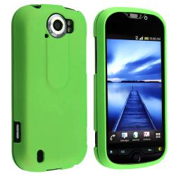 BasAcc Green Rubber Coated Case for HTC T-Mobile myTouch 4G Slide