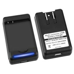 BasAcc Battery Charger with USB Output for HTC ThunderBolt 4G