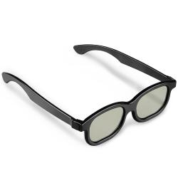 BasAcc Black 3D Glasses