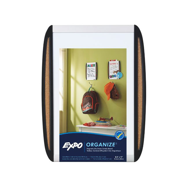 Expo Magnetic Dry Erase Board with Cork Strips