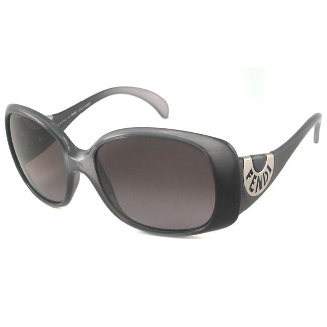 Fendi Women's FS5064 Rectangular Sunglasses