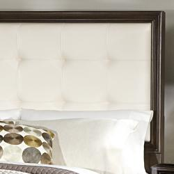 Cumbria White Bonded Leather King-size Storage Plateform Bed