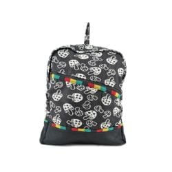 Mushroom Rasta Fabric Backpack (Nepal)