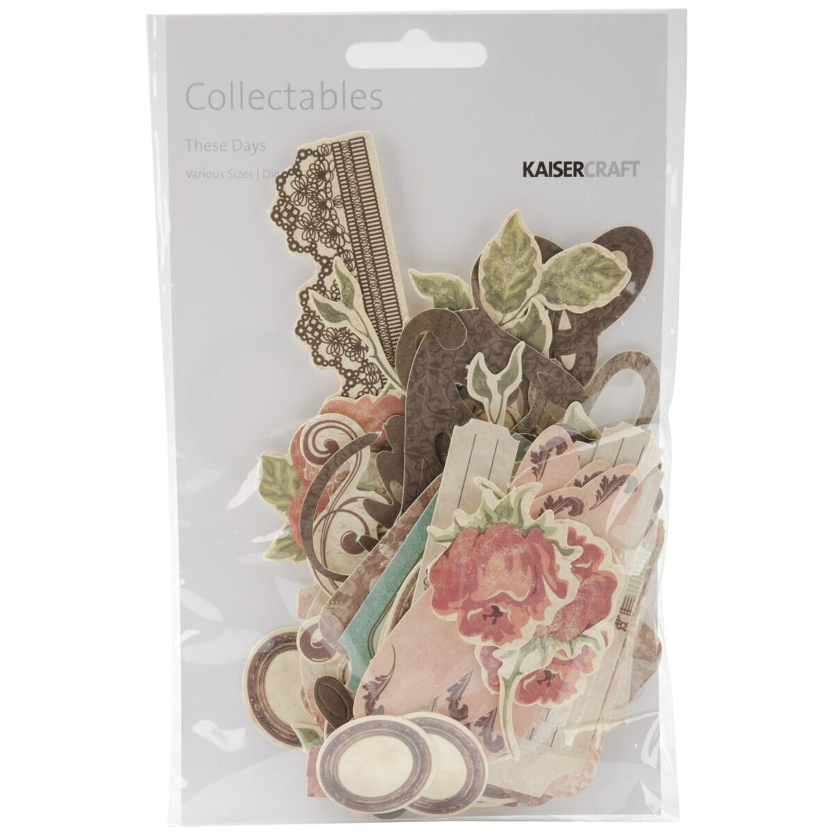 These Days Collectables Cardstock Die-Cuts 59/Pkg