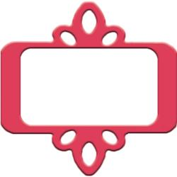 Slim Paper Punch Large-Accent Frame