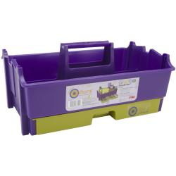 Creative Options Crafty Carry All Tote-Purple/Avocado Green