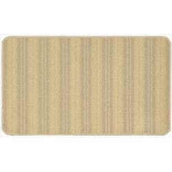Nourison Essentials Stripe Gold Rug (1'8 x 2'10)
