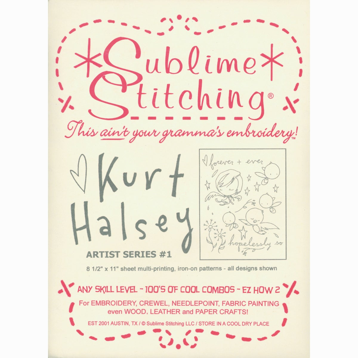 Overstock.com Sublime Stitching Embroidery Patterns Artist Series-Kurt Halsey #1 at Sears.com