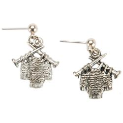 Charming Accents Post Earrings-Sweater