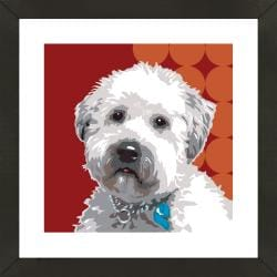 Framed Westiepoo Giclee Print Photo