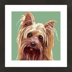 Framed Silky Terrier Giclee Print Photo