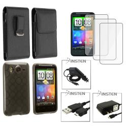 Case/ Chargers/ Cable/ Leather Case/ LCD Protector for HTC Inspire 4G